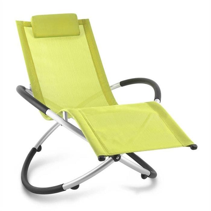 chilly billy chaise longue jardin transat aluminium citron vert blumfeldt image 0 - Chaise Longue Jardin