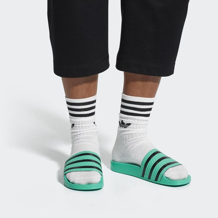 Sandale adilette vert Adidas Originals