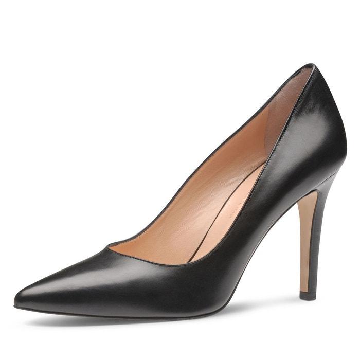 5d3a6674273f7b Escarpins femme noir Evita | La Redoute
