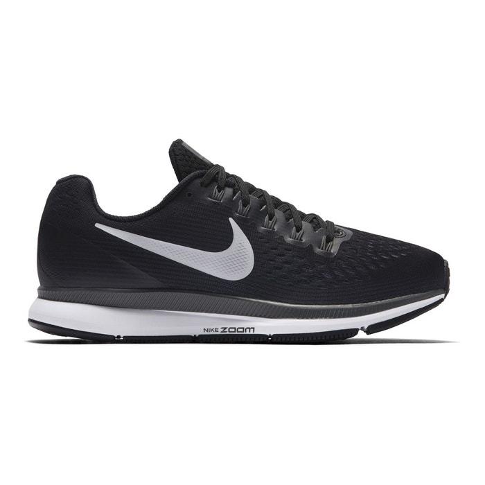 Baskets running air zoom pegasus 34 noir blanc gris Nike  6de90124fd6a7
