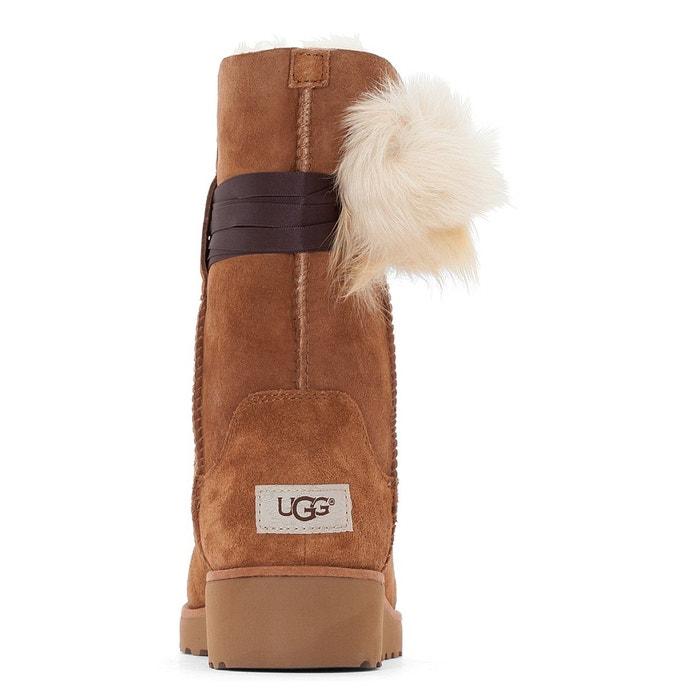 Boots cuir brita noisette Ugg