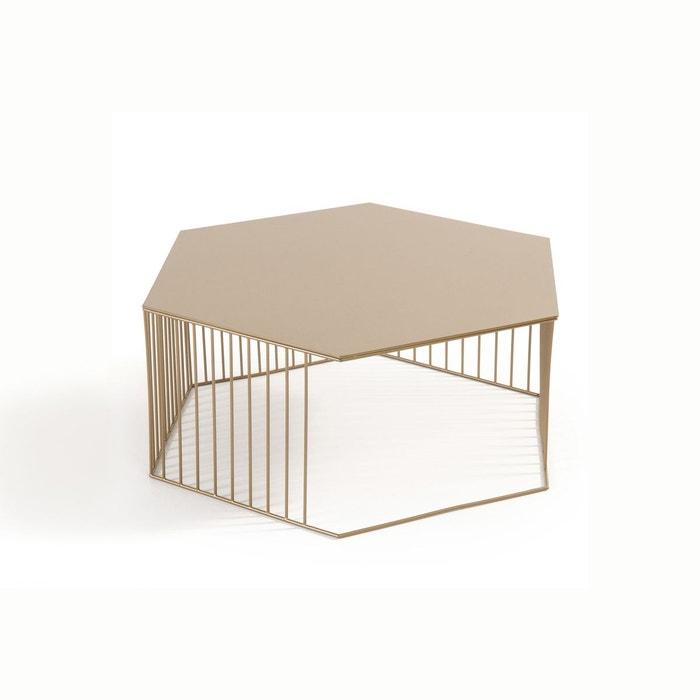 table basse filaire luxore dor la redoute interieurs la redoute. Black Bedroom Furniture Sets. Home Design Ideas
