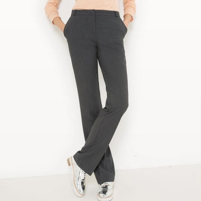 Pantalon droit, longueur 32 La Redoute Collections