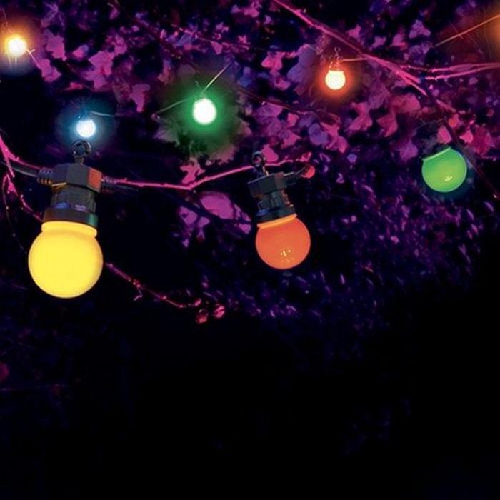 guirlande guinguette 10m multicolore avec prise multicolore skylantern la redoute. Black Bedroom Furniture Sets. Home Design Ideas
