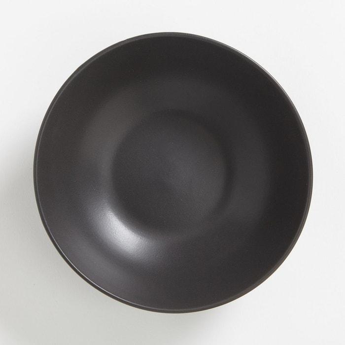 assiette creuse fa ence mate m lya lot de 4 la redoute interieurs la redoute. Black Bedroom Furniture Sets. Home Design Ideas