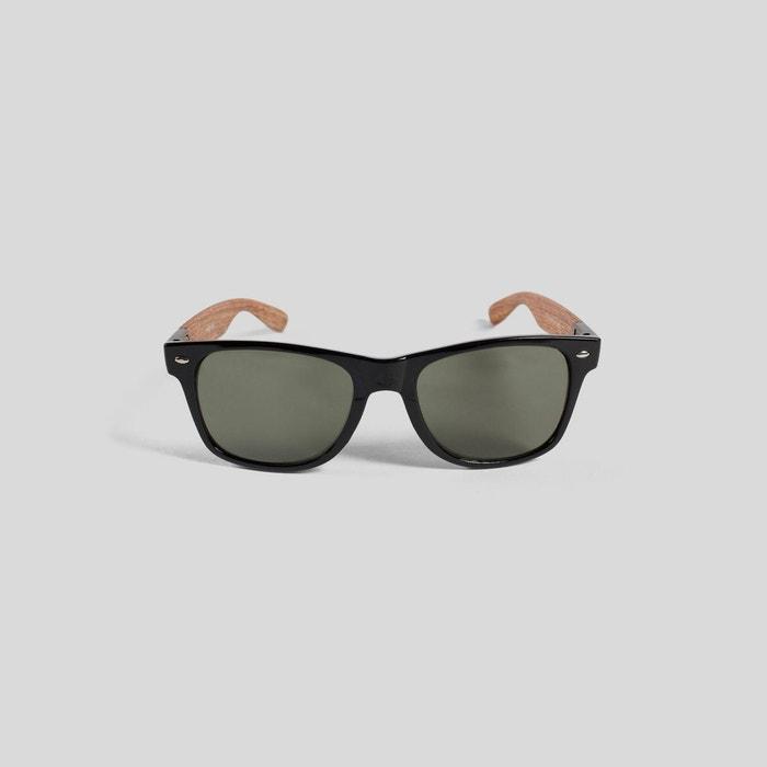 lunettes de soleil branches bois noir fantaisie jules la. Black Bedroom Furniture Sets. Home Design Ideas
