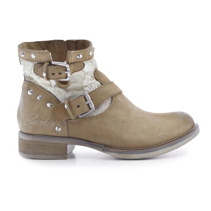 code promo nouveau authentique vente professionnelle Boots cuir Soly