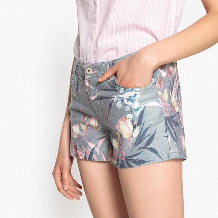 Floral Print 5-Pocket Shorts  ONLY image 0
