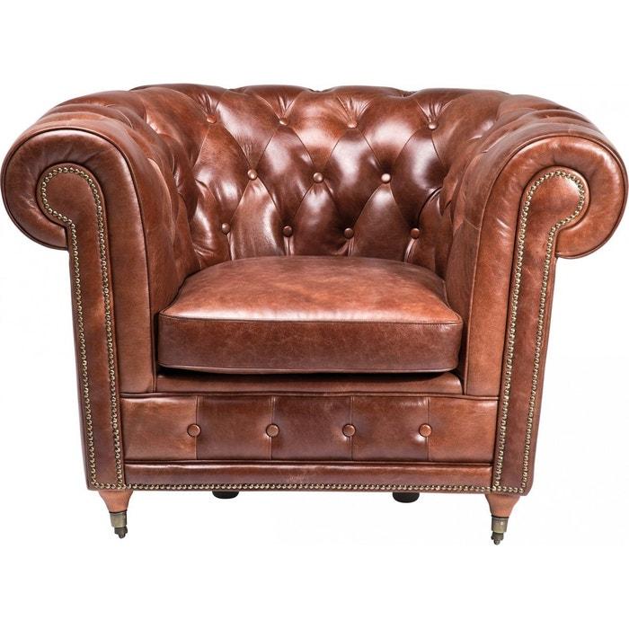 Fauteuil club oxford vintage deluxe kare design Kare Design   La Redoute a2a5792ce235