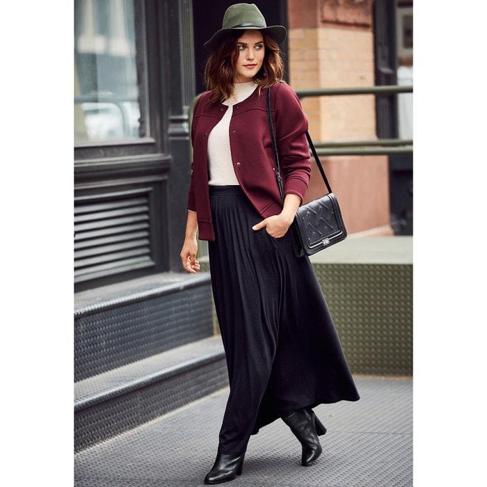 afbeelding Maxi lange rok in jerseytricot CASTALUNA