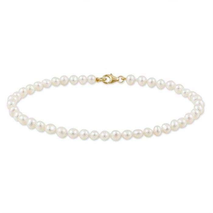 Bracelet or perle de culture jaune Histoire D'or | La Redoute Vente De Nouveaux Styles 54MaoX
