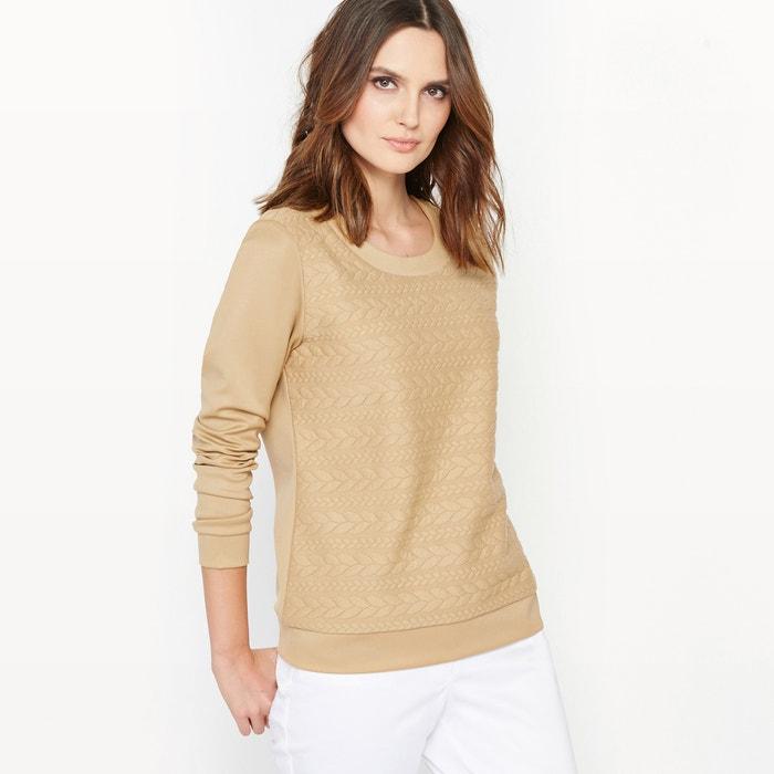 Textured Sweatshirt  ANNE WEYBURN image 0