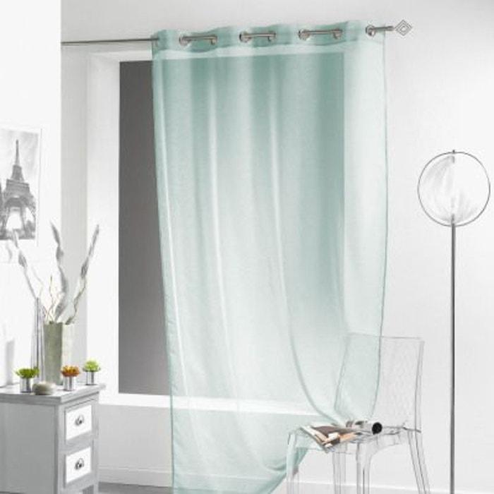 voilage oeillets 140x240 lissea douceur d interieur la redoute. Black Bedroom Furniture Sets. Home Design Ideas