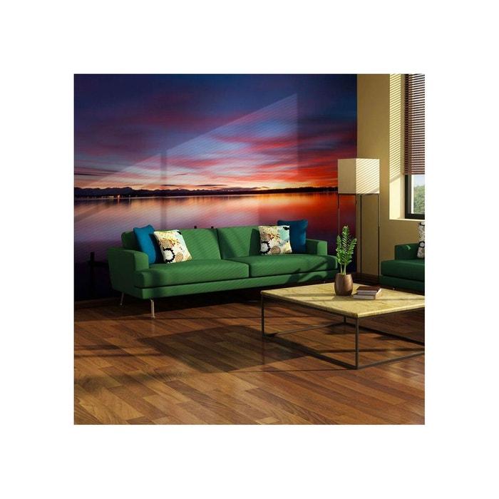 Papier peint effet miroir sur la surface lisse du lac Artgeist  19ae63b9c4d