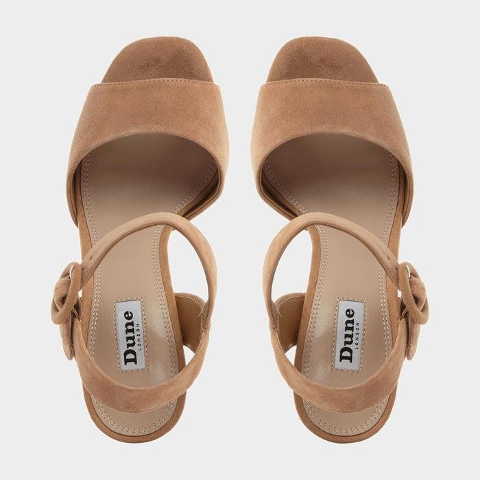 Sandales en deux parties à plateformes - monacco Dune London
