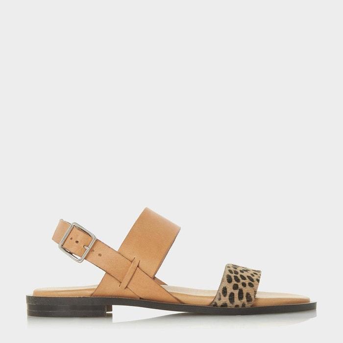 Sandales ouvertes en deux parties - leorra  Dune Black  La Redoute