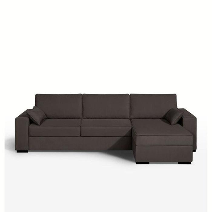 canap d 39 angle lit couchage express coton demi n la. Black Bedroom Furniture Sets. Home Design Ideas