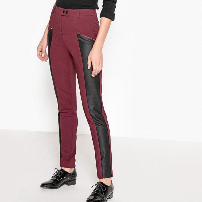 Image Pantaloni maglia milano e similpelle La Redoute Collections