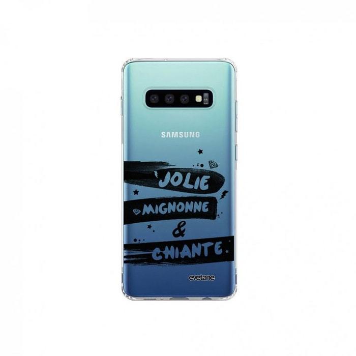 coque galaxy s10 plus silicone