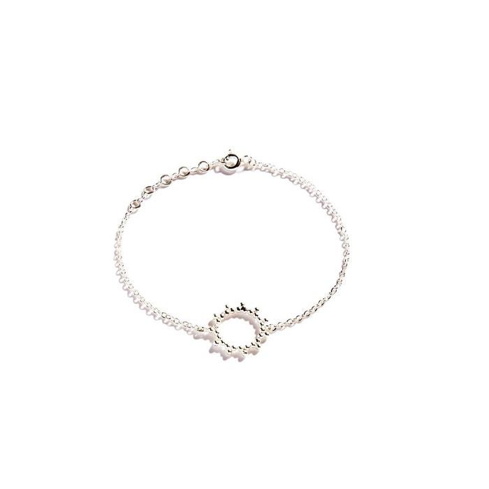 Livraison Gratuite Parfaite Bracelet chainette en argent soleil argent Agnes De Verneuil   La Redoute Voir Le Prix Pas Cher WcrzbIlhm