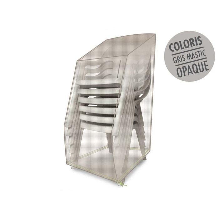 Housse de protection luxe pour piles de chaises 66 x 66 x 110 cm couleur uniq - Housse de chaise la redoute ...
