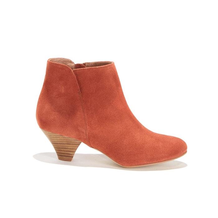 Boots zippées croûte de cuir YOU BOOTS SESSUN