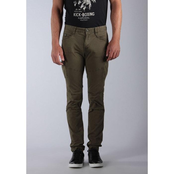 Man jeans artin vert kaki Kaporal  b1ec92e9ca60