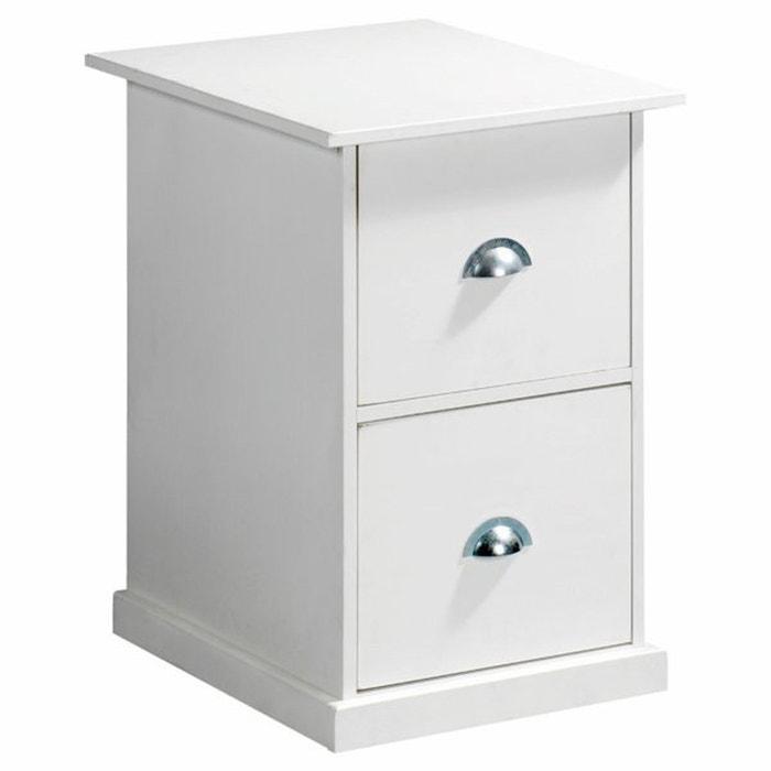 bloc 2 tiroirs pin tanguy am pm la redoute. Black Bedroom Furniture Sets. Home Design Ideas