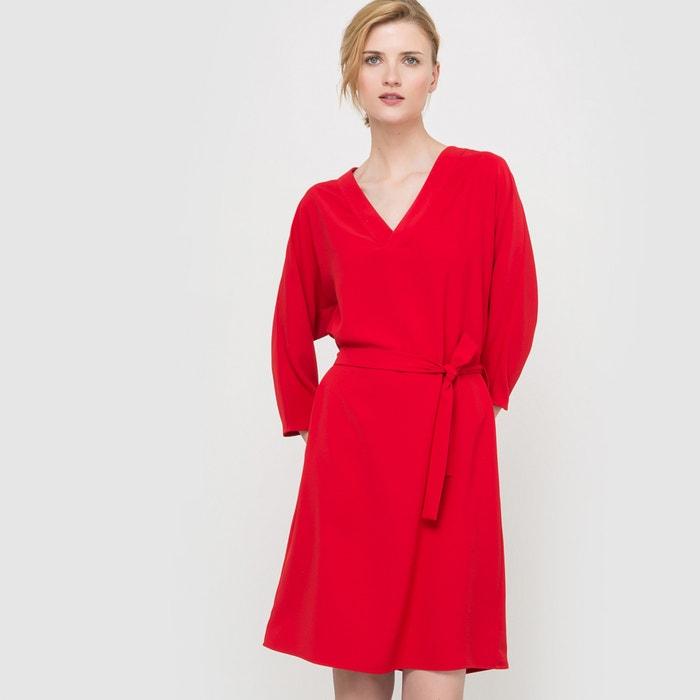 robe esprit kimono atelier r rouge la redoute. Black Bedroom Furniture Sets. Home Design Ideas