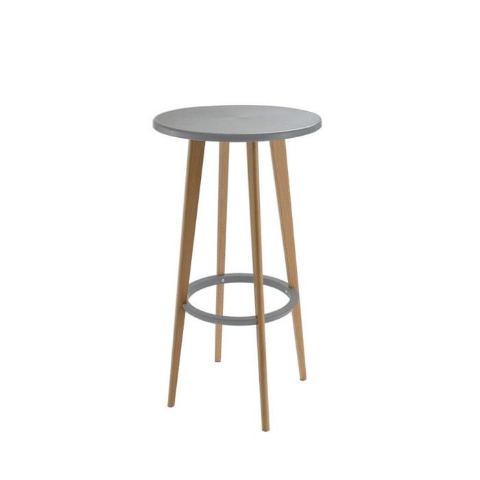 table de bar ronde design harry 39 s drawer la redoute. Black Bedroom Furniture Sets. Home Design Ideas
