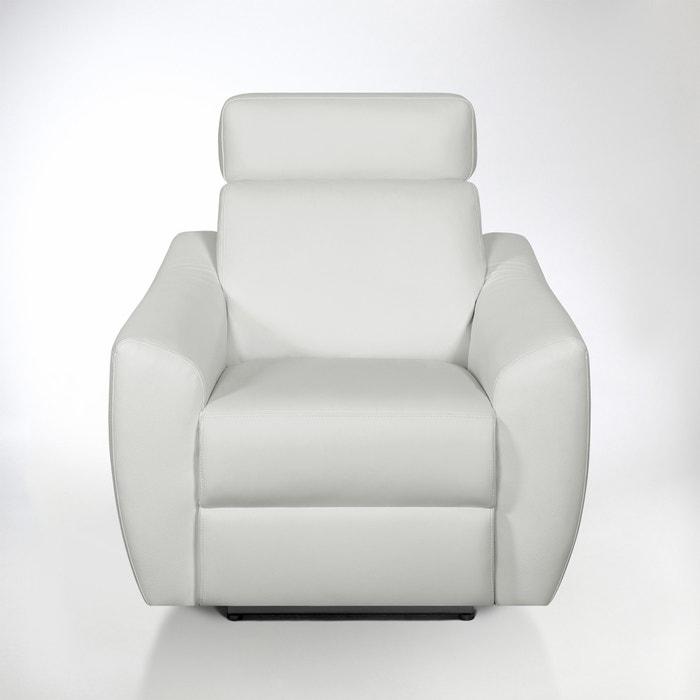 Image Fauteuil de relaxation manuel Nando en cuir La Redoute Interieurs