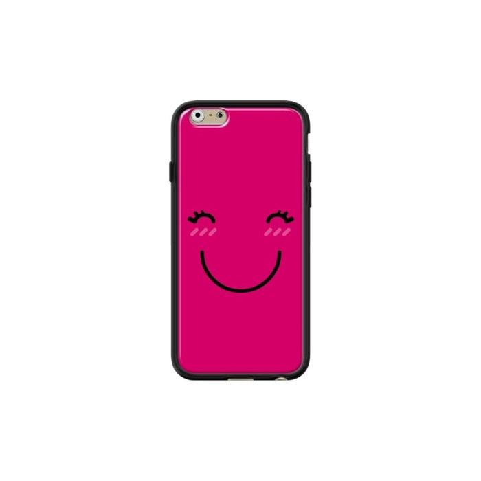 coque iphone 6 noir brillant