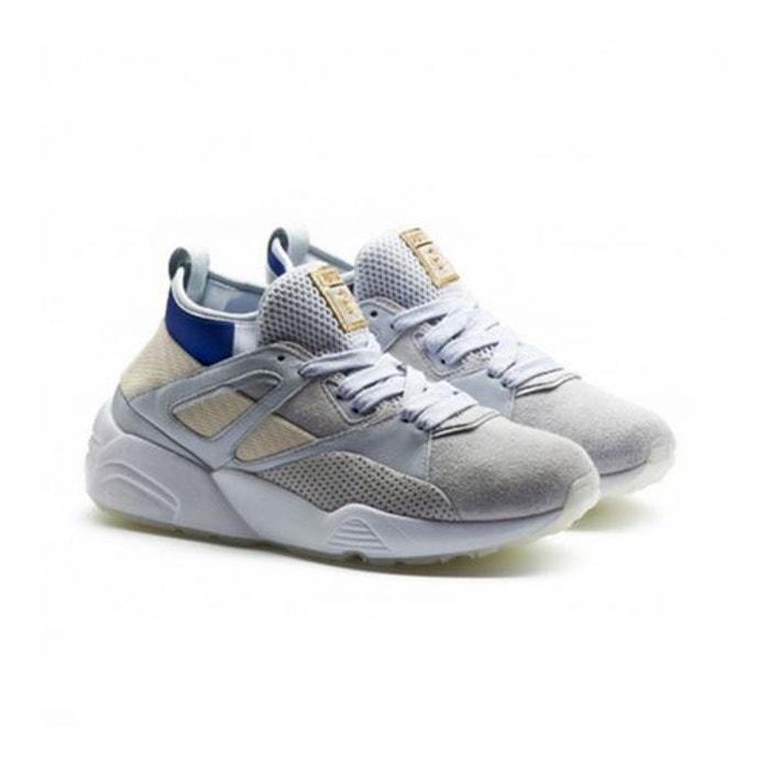 Puma Baskets  x Careaux Blaze Of Glory Sock Bleu Gris Gris - Chaussures Baskets basses Homme