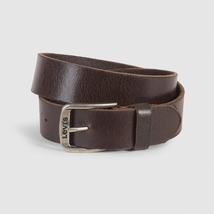 Image Classic Top Logo Bukkle Leather Belt LEVI'S
