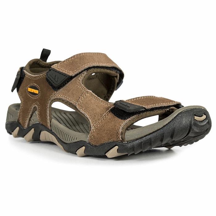 Belay sandales de randonnée homme marron Trespass