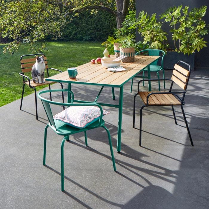 Oblice Metal Garden Chair Set Of 2 La Redoute Interieurs