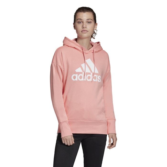 felpa rosa adidas
