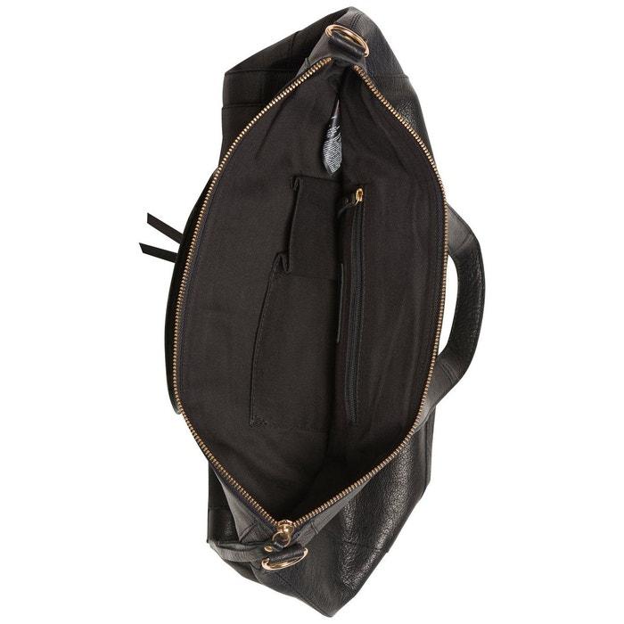 Acheter Pas Cher Fiable Rabais Le Plus Récent Sac porté épaule cuir black Pieces | La Redoute dSATu
