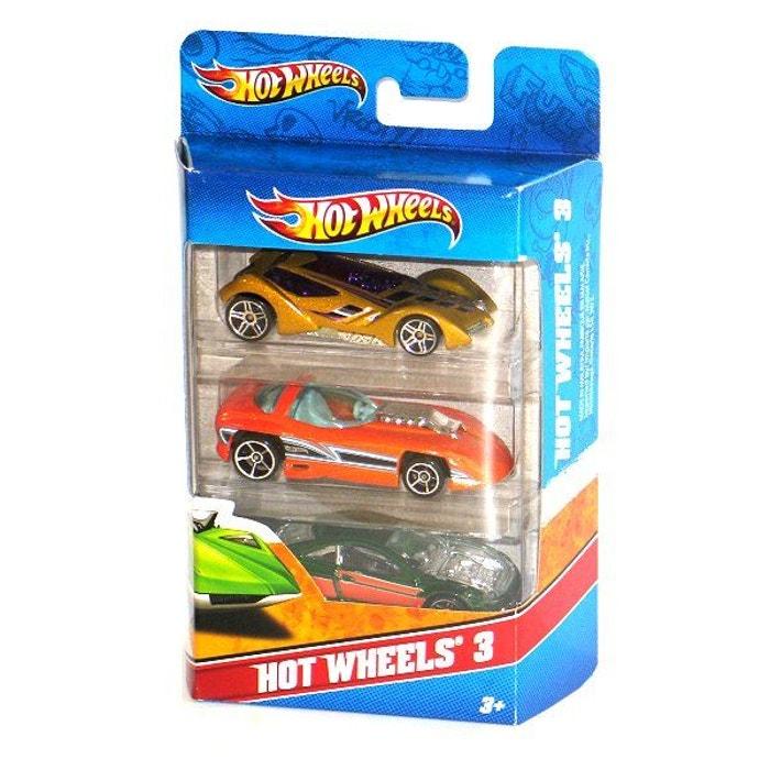 voitures hot wheels coffret de 3 voitures hot wheels image 0 - Voitures Hot Wheels