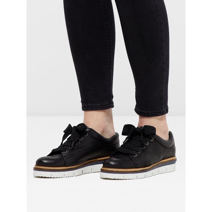 Chaussures à lacets cuir  Bianco  La Redoute