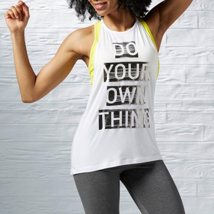 Imagen de Camiseta sin mangas y con escote, estampada, S FAVES TANK REEBOK