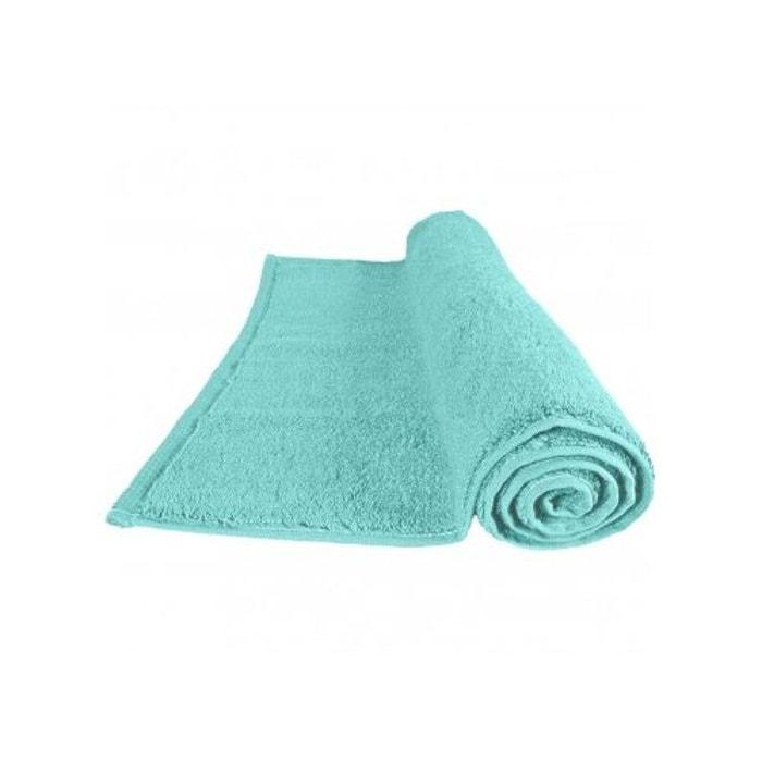 Drap de bain 100x150cm 560gr m sensoft bleu turquoise for La maison du bain paris