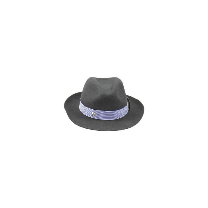 Chapeau fedora feutre ruban skyline noir Panames And Co | La Redoute Paiement De Visa WEH10wKME