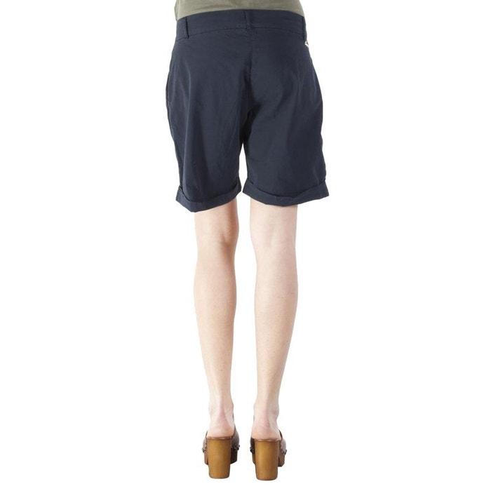 Carrera Jeans - Bermuda 759 pour femme, couleur unie, tissu popeline, taille  normale 15f4c31c9e42
