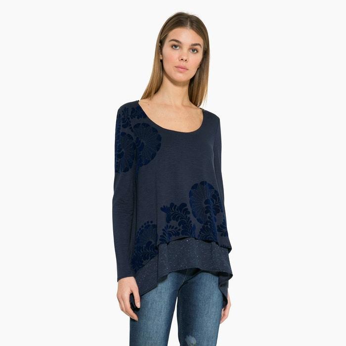 afbeelding T-shirt met ronde hals DESIGUAL