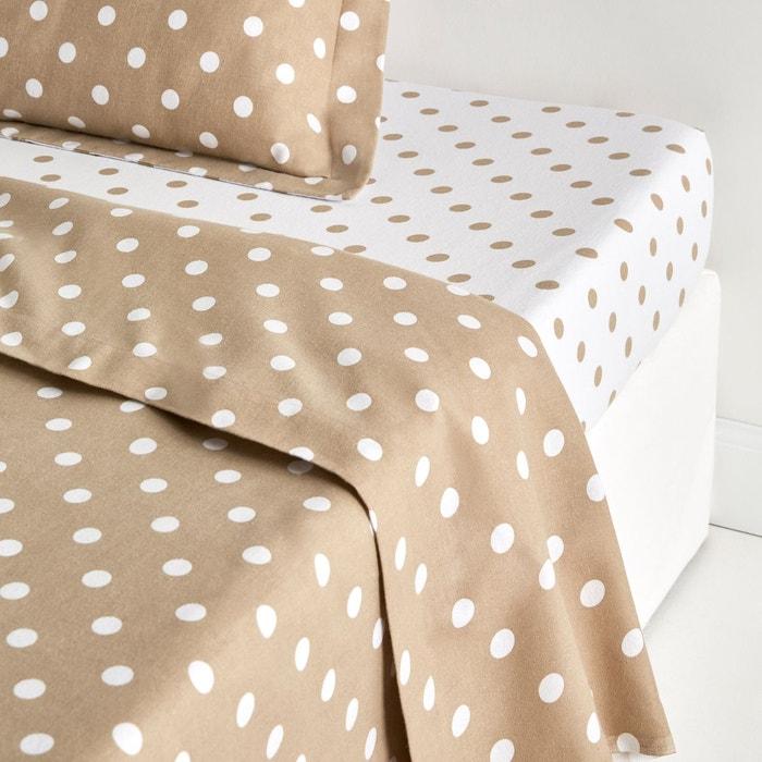 drap flanelle clarisse la redoute interieurs la redoute. Black Bedroom Furniture Sets. Home Design Ideas