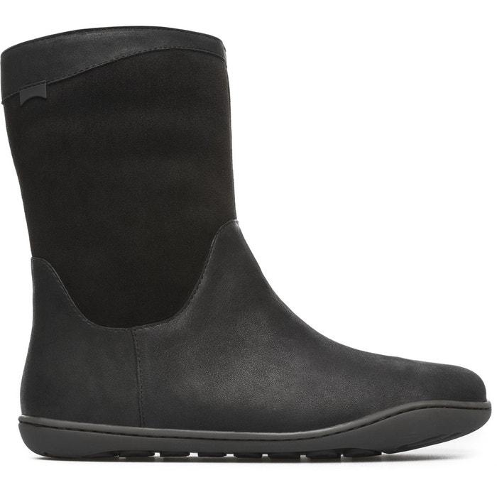 Peu k400048-006 bottines femme noir Camper