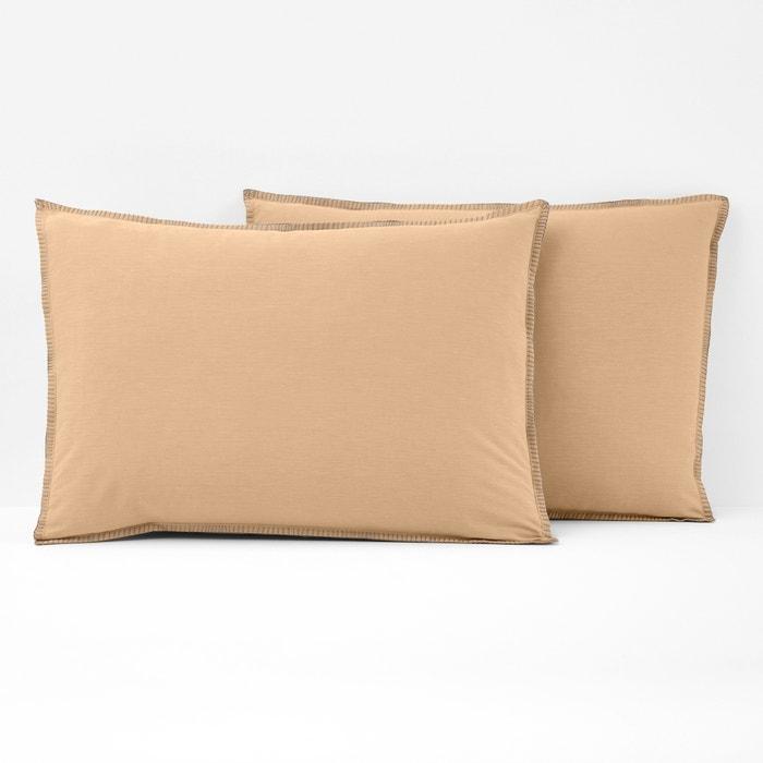 Kolza Single Chambray Pillowcase  La Redoute Interieurs image 0