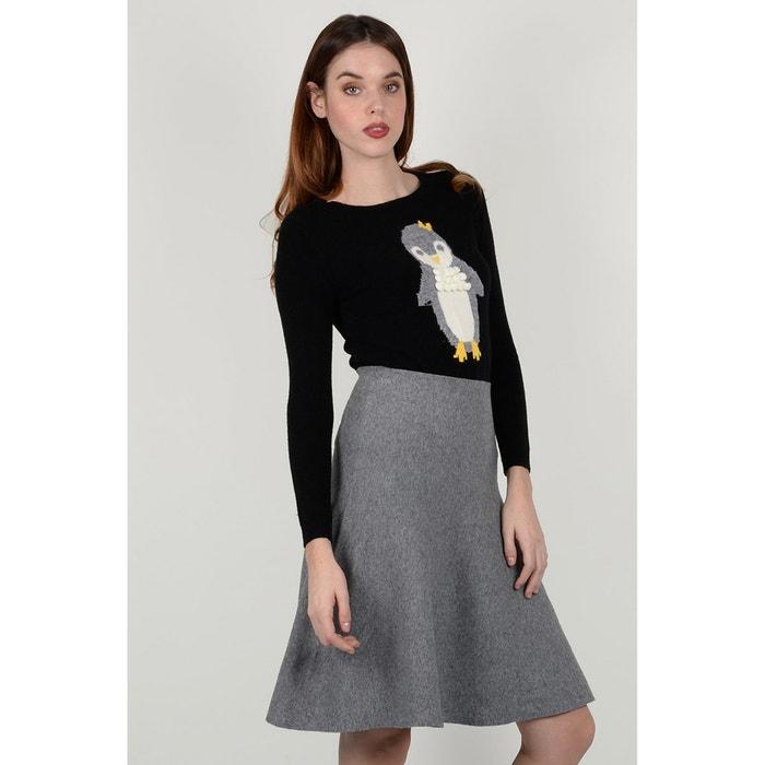 Short Printed Skater Skirt  MOLLY BRACKEN image 0