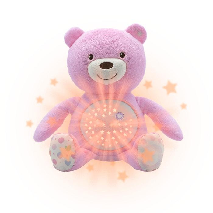 Ursinho projetor Baby Bear, cor-de-rosa  CHICCO image 0